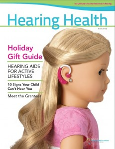 2012 Fall Hearing Health